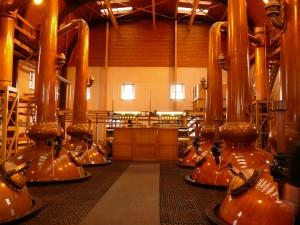 Glenmorangie Distillery Stills
