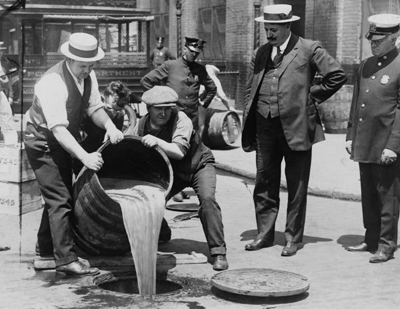 Prohibition in the Uniteds