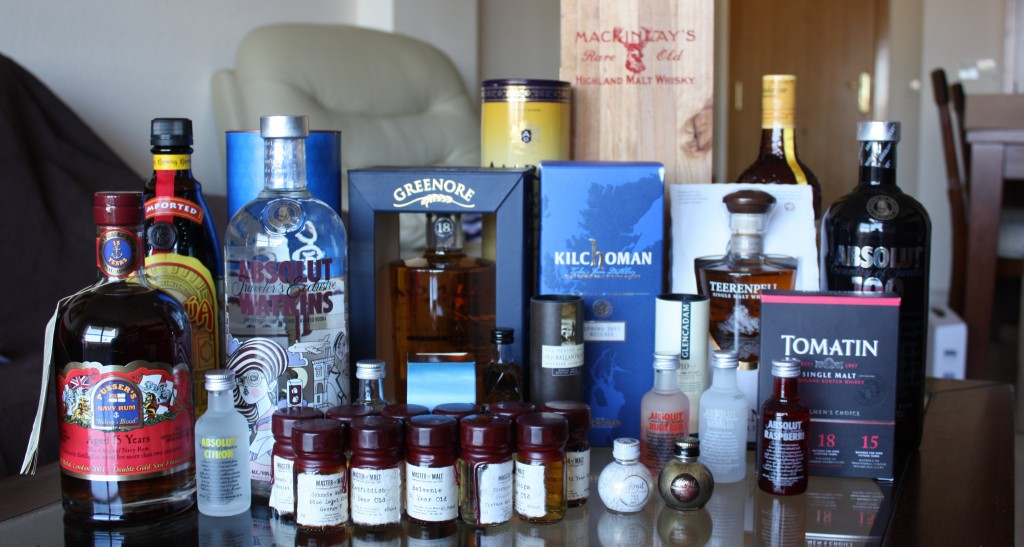 April order from The Whisky Exchange and Master of Malt