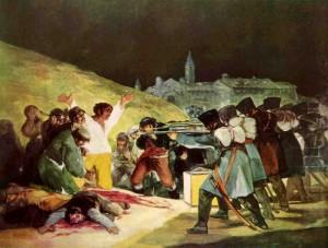 Los fusilamientos del tres de mayo Francisco Goya