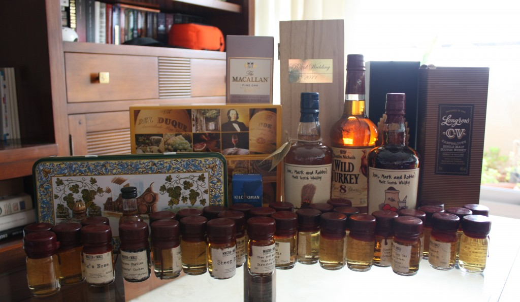 May orders from The Whisky Exchange and Master of Malt