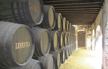 Lepanto Brandy Casks at Gonzalez Byass