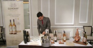 Glen Grant guy working hard at WhiskyLive