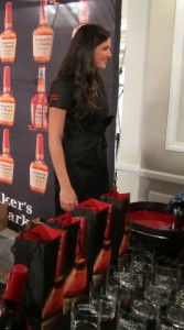 Hot things at Maker's Mark WhiskyLive stand
