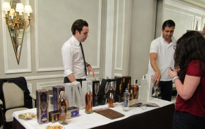 Mattise whisky stand at Whiskylive Madrid