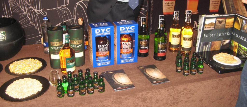 DYC stand at WhiskyLive Madrid