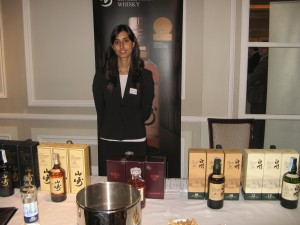 Suntory stand at WhiskyLive Madrid