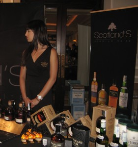 Scotland's Premium Malts stand at WhiskyLive Madrid