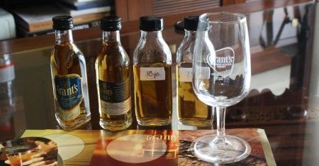 Grant's whisky tasting with The Whisky Wire