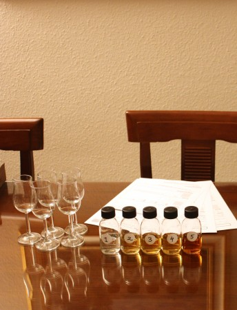 mackmyra blind samples whisky