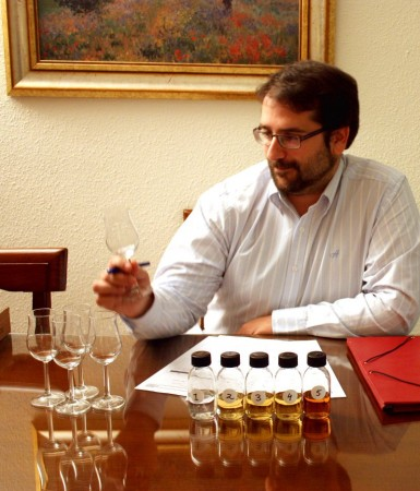 mackmyra twasting concentration samples tasting whisky