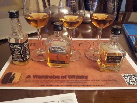 jack-daniels-range-whiskey-tasting