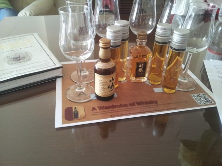 suntory-yamazaki-nikka-taketsuru-tasting-whisky