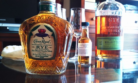 Crown Royal Rye Whiskey & Select Barrel