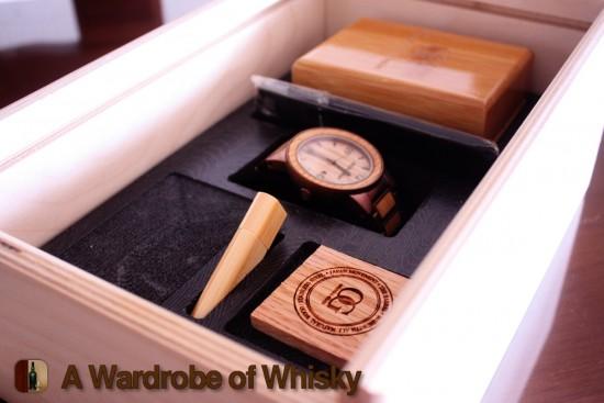 Original Grain The Barrel Watch Whiskey Barrel Wood Watch