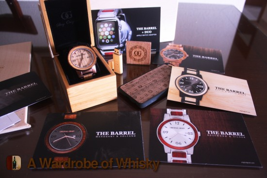 Original Grain The Barrel Watch Whiskey Barrel Wood Watch